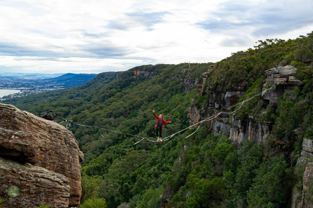 Highlining at Scarborough